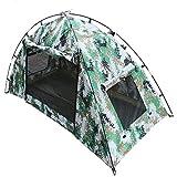 バックパックテント紫外線保護オーニングカモフラージュキャンプ一階建てエクスプローラー防水軽量ハイキング旅行クイックセット残りの部分に最適な場所