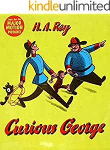 Curious George: English picture book for children (English Edition)