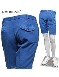 (J.W.ブライン) J.W.BRINE ドッド柄 リネン ショート パンツ royal 119333 38739 541/J.W.BRINE [並行輸入品]
