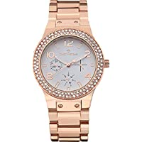 Timothy Stone Women's FAÇON-STAINLESS Rose Gold-Tone Watch