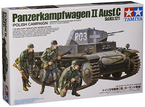 1/35 ミリタリーミニチュアシリーズ No.299 1/35 ドイツ II号戦車C型(ポーランド戦線) 35299