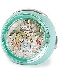 アリアス(ALIAS) 置き時計 グリーン 11.0cm×12.8cm×8.8cm すみっコぐらし 目覚まし時計 アナログ LEDクロック