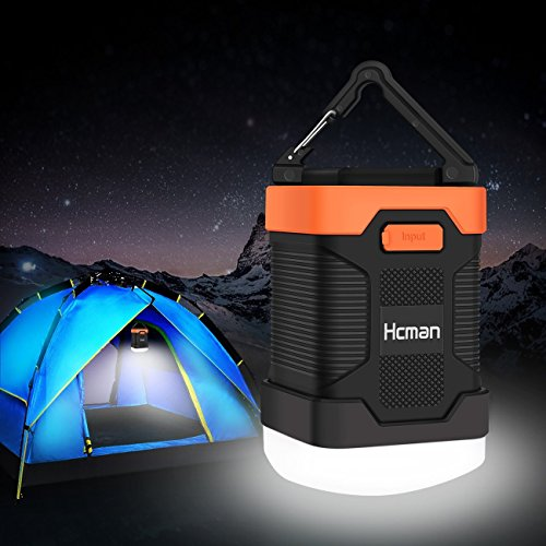 Hcman LEDランタン USB充電式10000mAh モ...