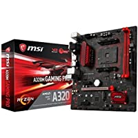 MSI Gaming AMD Ryzen A320 DDR4 VR Ready HDMI USB 3 micro-ATX Motherboard (A320M GAMING PRO) [並行輸入品]