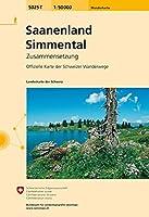 Saanenland-Simmental 2013 (Wanderkarte Zusammensetzung)