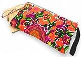 クラッチバッグ モン族 刺繍 (アジア少数民族 伝統刺繍 ハンドメイド) ファッションバッグ セカンドバッグ (B)