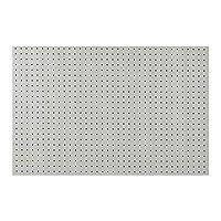 有孔ボード 木目調ヒッコリーホワイト 1/3サイズ(4ミリ厚x横900ミリx縦600ミリ)UKB-600900-2038-120 穴径5ミリ穴ピッチ25ミリ 1枚入り