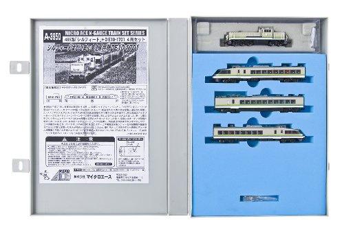 Nゲージ A3950 485系「シルフィード」+DE10-1701 4両セット