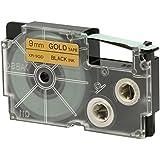 Casio XR-9GD1 Standard Ez Label Tapes, 0.03 kilograms