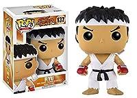 Funko - Figurine Street Fighter - Ryu White Headband Exclu Pop 10cm - 0889698124195