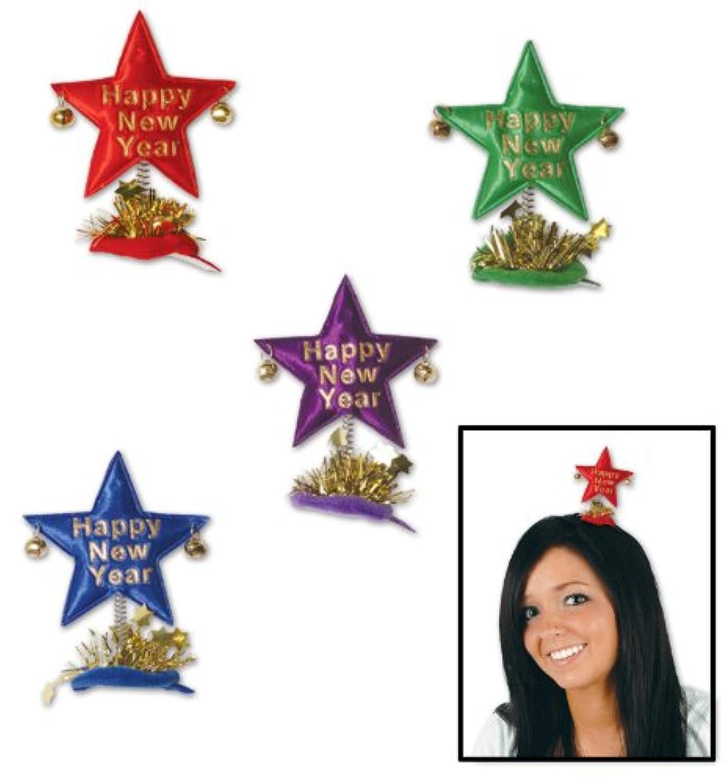 Happy New Year Star Hair Clip 新年あけましておめでとうございますスターのヘアクリップ?ハロウィン?クリスマス?One size