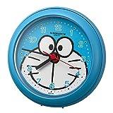 リズム時計工業(Rhythm) ブルー Φ11.8x4.8cm ドラえもん 掛け時計 お風呂 で使える強化防滴クロック 4KG716DR04