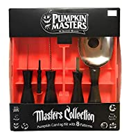 Pumpkin Masters Masters Collection Pumpkin Carving Kit, 1 Brand, 5 Tools, 8 Patterns