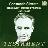 Manfred Symphony/Tasso (Silvestri) by Philharmonia Orchestra (1999-03-01)