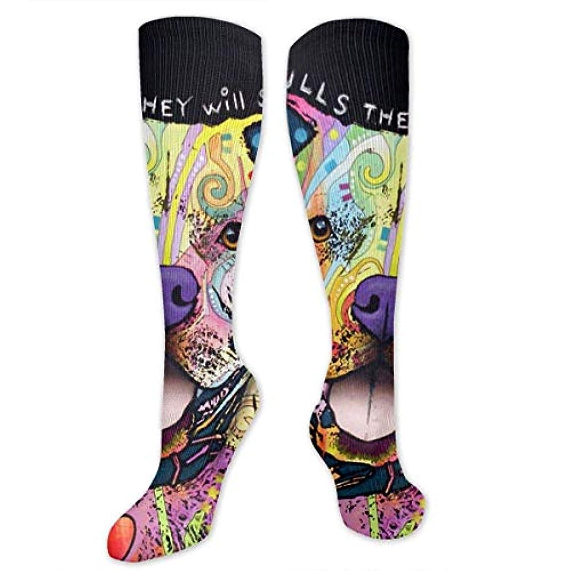 ウォーターフロントけん引式靴下,ストッキング,野生のジョーカー,実際,秋の本質,冬必須,サマーウェア&RBXAA Colorful Pitbull Socks Women's Winter Cotton Long Tube Socks Knee...