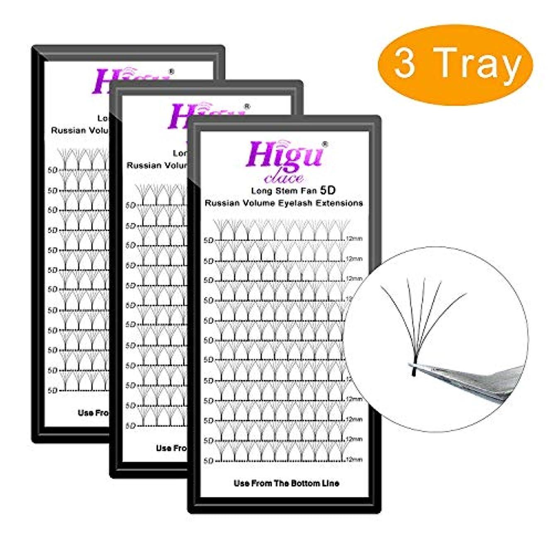 バングラデシュハンバーガー立方体3 Tray 5D D 12mm+12mm+12mm Long Stem Fans