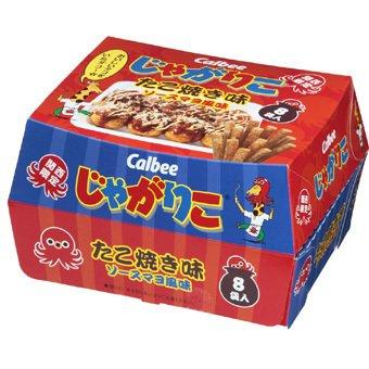 じゃがりこ たこ焼き味/カルビー 大阪のお土産