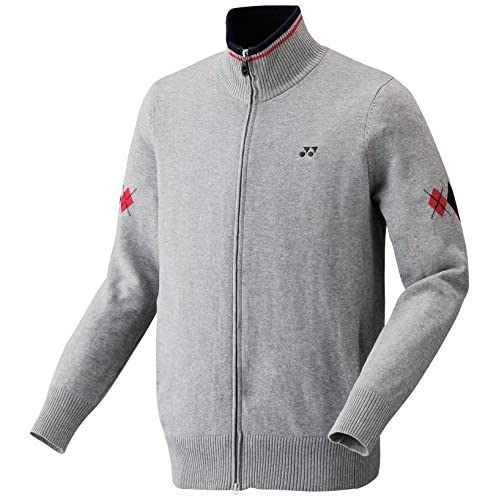 (ヨネックス)YONEX セーター 31007 010 グレー L