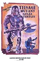 Rareポスターガーナ映画ポスターTeenage Mutant Ninja Turtles Limited 2018再印刷# ' d/100!!12x 18