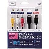 Logitec Walkman用ケーブル 映像+充電 LHC-RUW01