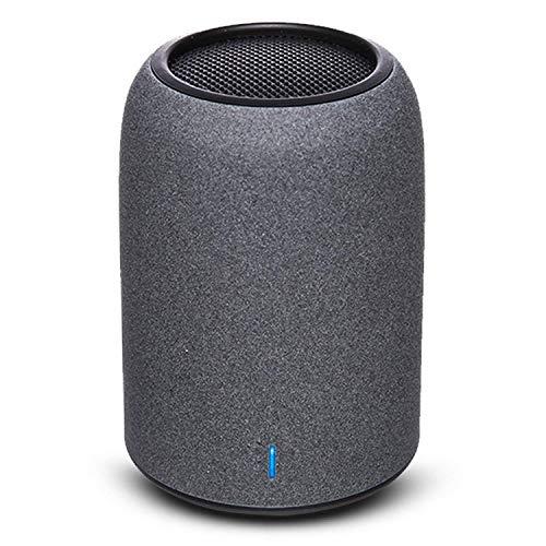 Bluetooth スピーカー ZENBRE M4 超小型 スピーカー【8時間再生、低音強化、マイク搭載、AUX対応、一年保証、日本語説明書】車載/ ポータブル/コンパクト/ワイヤレス/高音質 (ブラック)
