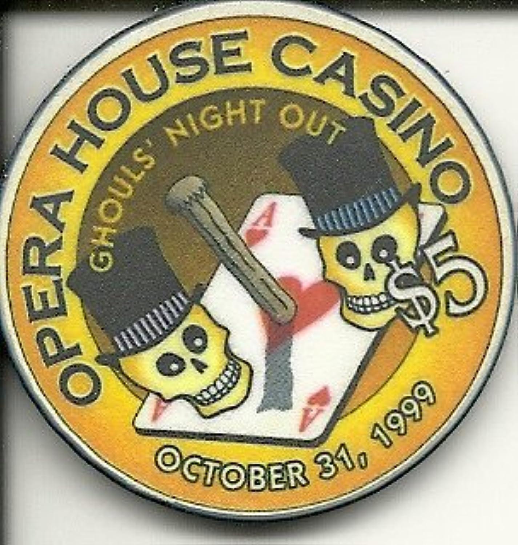 $ 5オペラハウスカジノGhouls ' Night Out Obsoleteラスベガスカジノチップ