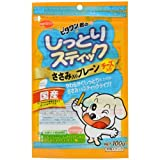 日本ペットフード ビタワン君のしっとりスティック ささみ入りプレーン チーズ入り 100gの画像