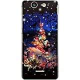 CaseMarket 【ポリカ型】 docomo Xperia SX SO-05D ポリカーボネート素材 ハードケース [ Frame Picture Collections ホワイト クリスマス ]