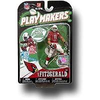 McFarlane Toys Arizona Cardinalsラリー・フィッツジェラルドPlaymakersシリーズ1アクションフィギュアby McFarlane Toys