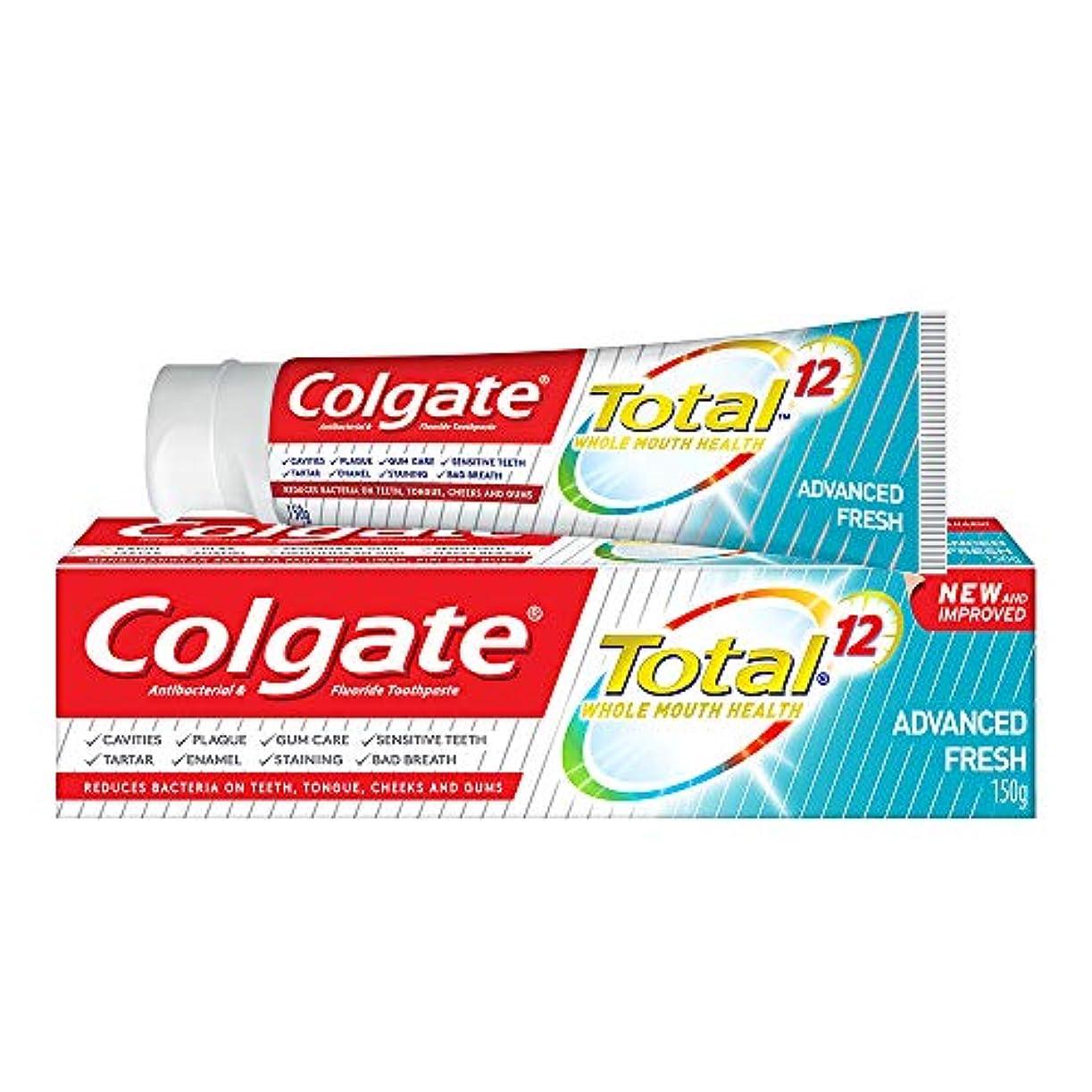 チャンス脅迫灰Colgate コルゲート トータル トゥースペースト 150g (歯磨き粉) 【歯磨き粉、虫歯予防、アメリカン雑貨】