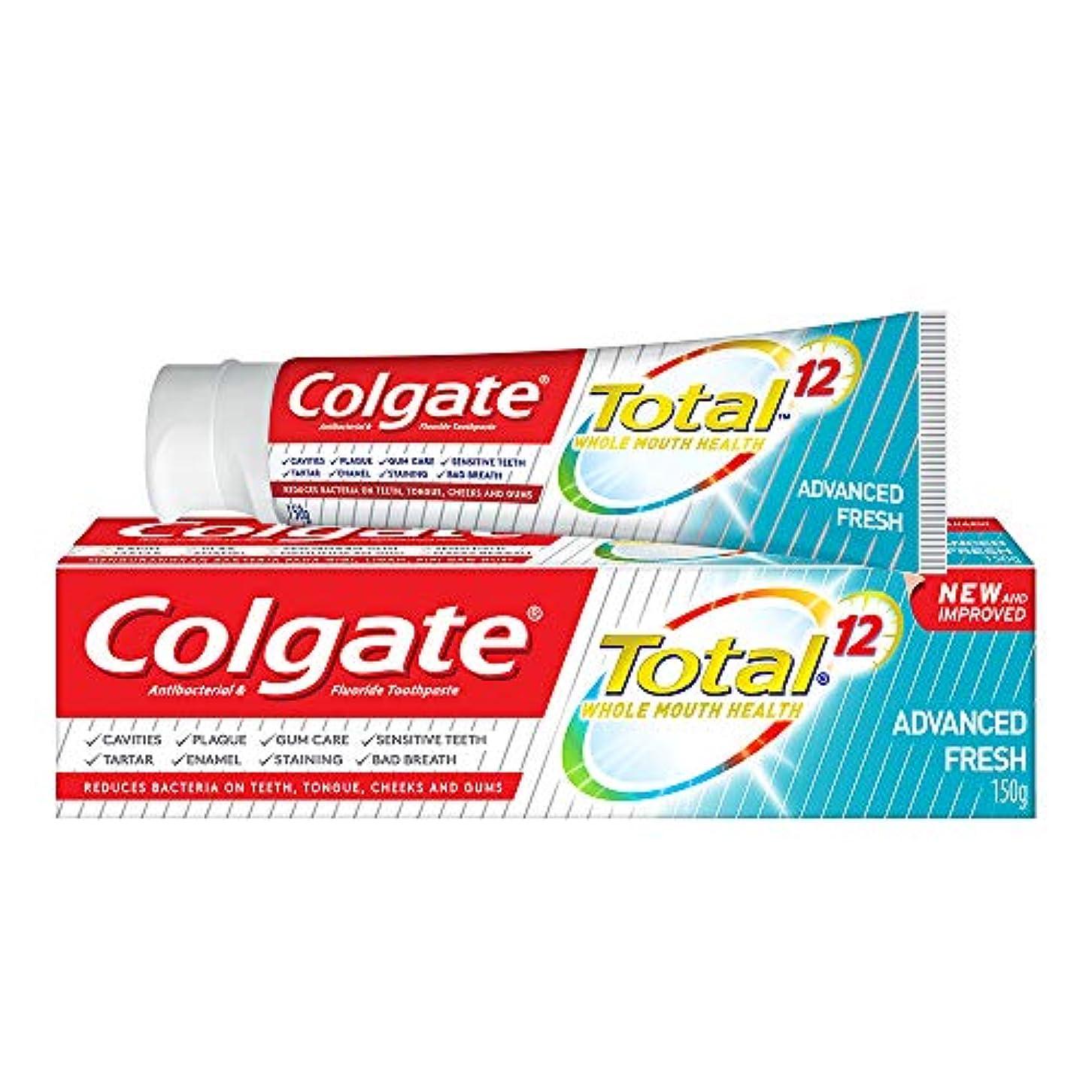 絡まるウェーハ底Colgate コルゲート トータル トゥースペースト 150g (歯磨き粉) 【歯磨き粉、虫歯予防、アメリカン雑貨】