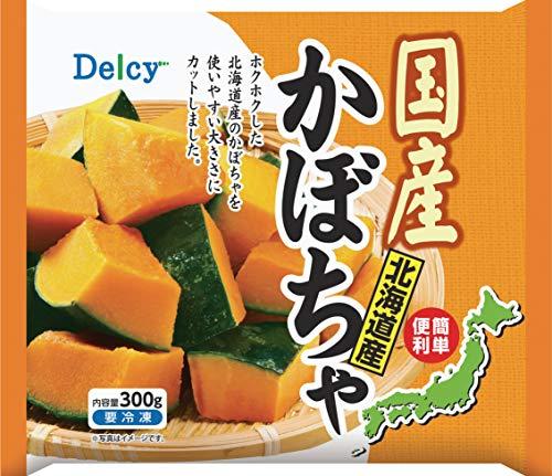 [冷凍] Delcy 国産北海道かぼちゃ 300g
