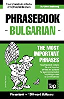 English-Bulgarian Phrasebook and 1500-Word Dictionary