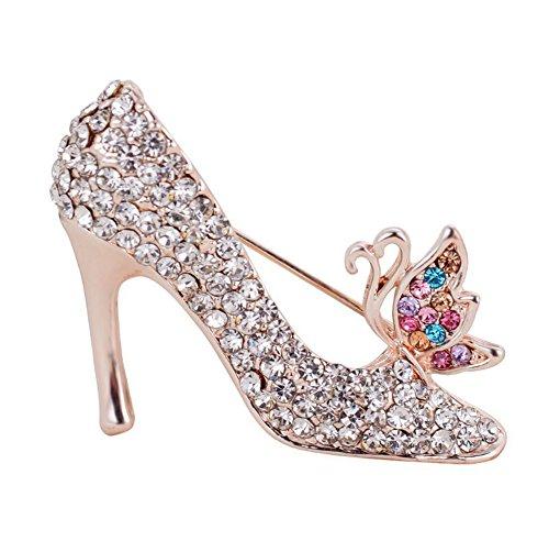 [해외]Vi.yo 하이힐 신발 브로치 핀 크리스탈 우아한 여성 여성 액세서리 반짝/Vi.yo high heel shoes brooches pin crystal elegant female ladies accessories glitter