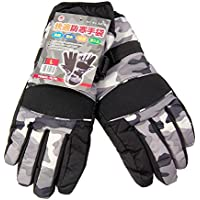 PAXセレクト シンサレート使用 防水 防風 暖ったか保温手袋 迷彩 #5416 (L)