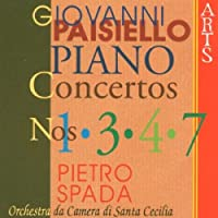 Paisiello: Piano Concs.1,3,4