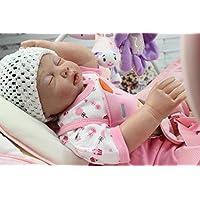 Maide Rebornベビー人形22インチフルシリコンビニール人形Lovely Lifelike新生児赤ちゃん人形Can Put In水シャワー