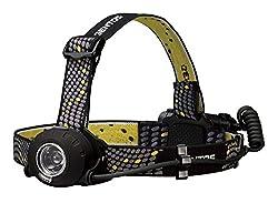 GENTOS(ジェントス) LED ヘッドライト 【明るさ300ルーメン 実用点灯8時間 防滴】 ヘッドウォーズ HW-000X
