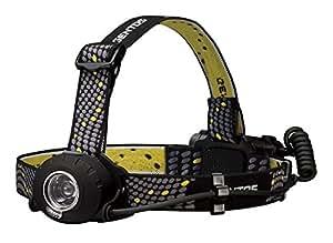 ジェントス LED ヘッドライト 【明るさ300ルーメン/実用点灯8時間/防滴】 ヘッドウォーズ HW-000X