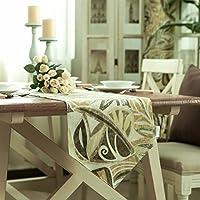 YKFN 地中海 田園 テーブルセンター テーブルランナー 高級感 ギフト おしゃれ こだわり おもてなし リビング シンプル  敷物 贈り物 雑貨