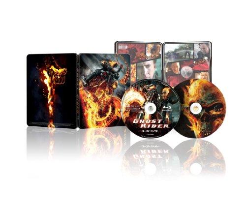 ゴーストライダー 1&2スペシャルツインパック (Blu-ray2枚組)(スチールケース仕様)[数量限定生産]