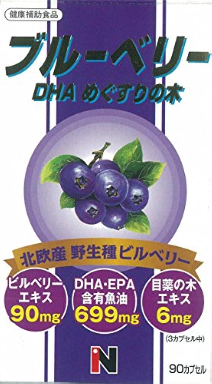ブルーベリー+DHA+メグスリの木混合 450mg×90粒