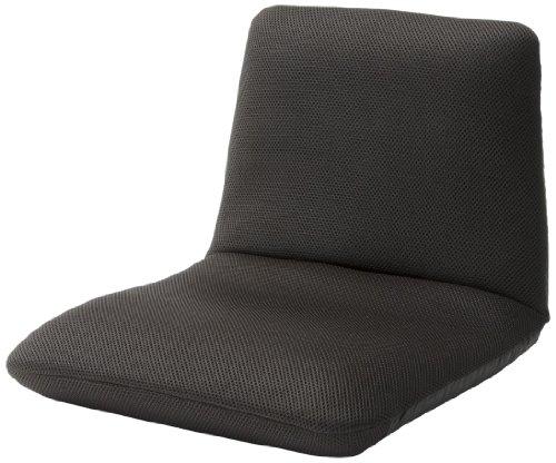 セルタン 和楽チェアS 腰楽座椅子 メッシュダークブラウン A455a-349DBR