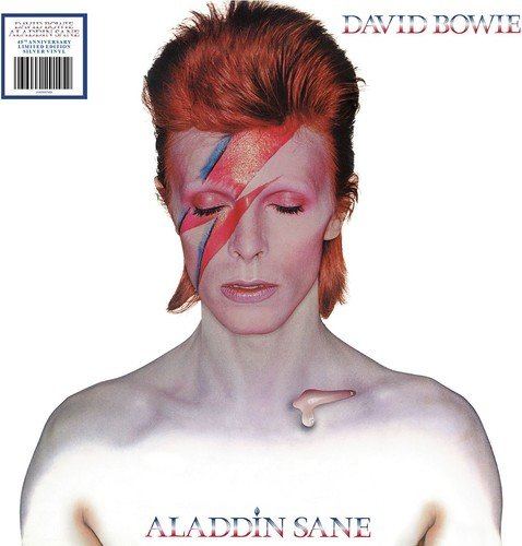 ALADDIN SANE [LP] (45TH ANNIVERSARY, SILVER COLORED VINYL, 2013 REMASTER) [12 inch Analog]