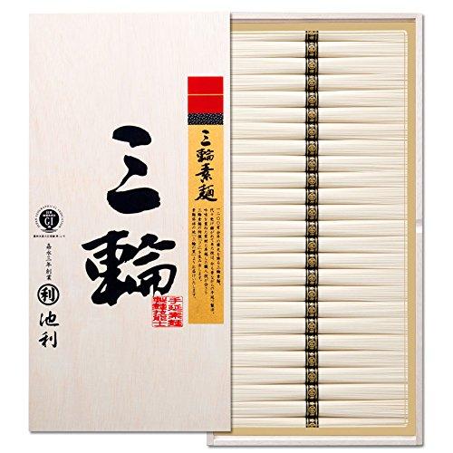 株式会社池利 三輪素麺「三輪」 (50g×75束)(約50人前) 御仏前