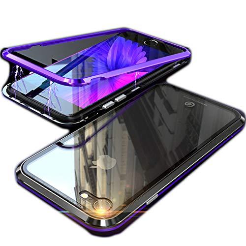 アルミ バンパー 背面ガラス iPhoneX ケース アイフ...