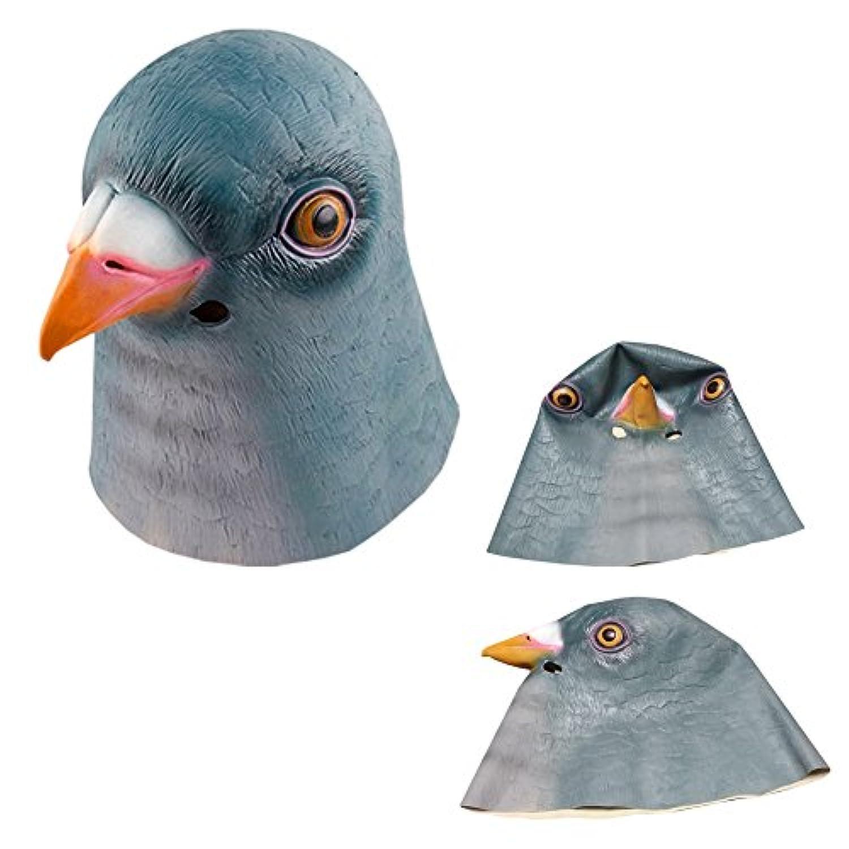 Hush & Vane ハト マスク 鳩 鳥 アニマルマスク 酉年 宴会 かぶりもの