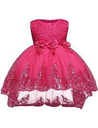 66dd7a7b82480 子供 ドレス ガールズ ワンピース キッズドレス フラワードレス ノースリーブドレス 刺繍 結婚式 発表会…