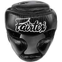 Fairtex DiagonalビジョンSparring Headgear – フル(パッド入りトップ)バージョン