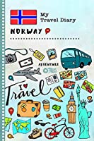 Norway My Travel Diary: Kids Guided Journey Log Book 6x9 - Record Tracker Book For Writing, Sketching, Gratitude Prompt - Vacation Activities Memories Keepsake Journal - Girls Boys Traveling Notebook